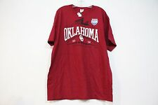 FRUIT OF THE LOOM RUSSELL ATHLETIC BOWL OKLAHOMA UNIVERSITY 2014 TEE RED XL NEW