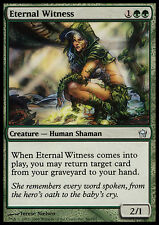 MTG ETERNAL WITNESS - POOR/ROVINATA TESTIMONE ETERNA - FD - MAGIC