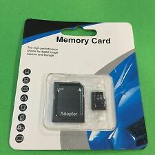 NEW 32GB Micro SD Memory Card SDHC TF Flash Class 10 Retail Pack w SD Adapter A+