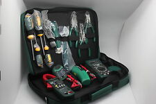 MASTECH Electrician Kit MS5902 MS8233B MS2008A MS6906  clamp meter tool set bag