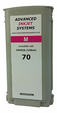 Compatible C9453A HP 70 130ml Magenta Ink Cartridge For HP Z2100 Z3100 Z3200