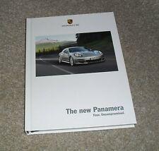 PORSCHE Panamera RIGIDA opuscolo 2008 - 4.8 S - 4.8 4S - 4.8 Turbo