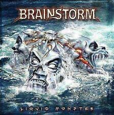 Brainstorm - LIQUID MONSTER - CD + DVD NEU Worlds Are Comin' Through