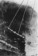 WW2 - CP  - Vue aérienne du Port artificiel d'Arromanches