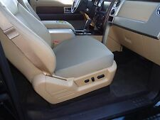 Bottom Seat Covers for Bucket Seats -Price is for one (1) Tan Neoprene Cover