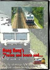 Hong Kong's Trains and Boats DVD NEW Highball China Funicular Star Ferries