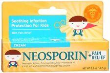 Neosporin + Pain Relief Cream 0.5 oz (Pack of 5)