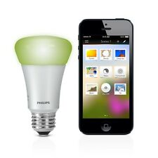 Philips Hue LED Smart Personal Wireless Light Bulb 16 million Color E27 600lumen