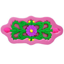 Sculpted Silicone Fondant Lace Sugarpaste Chocolate Mould Cake Decoration Tools