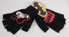 New DC Comics Batman / Harley Quinn Bang Gun Fingerless Knit Gloves Cosplay