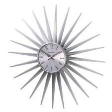 NeXtime 1688SILVER24 George Nelson Sunburst clock