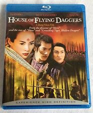 House of Flying Daggers Blu-ray Disc 2006 Zia Zhang Andy Lau