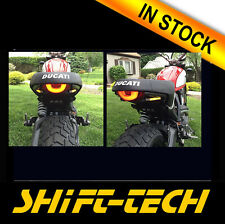 ST1151 DUCATI SCRAMBLER  license plate holder bracket  +LED TURN SINGALS