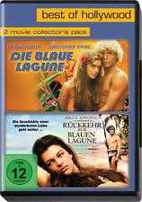 2 x DVD Die blaue Lagune + Rückkehr zur blauen Lagune neuwertig -1 x angeschaut