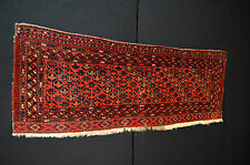 Rare Salor Turkoman Antique Tribal Torba circa 1880's