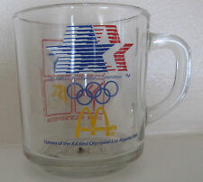 McDonalds 1984 OLYMPICS COLLECTORS GLASS CUP VERY RARE CLEARANCE
