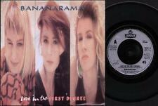 "BANANARAMA Love In The First Degree  7"" Ps, B/W Mr Sleaze, Nana 14 (Vg/Ex)"