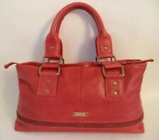 BEAUTIFUL HIDESIGN RED LEATHER SHOULDER BAG HANDBAG