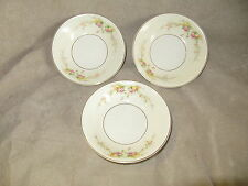 HARKER POTTERY SHADOW ROSE DESSERT BOWLS VERY GOOD VINTAGE CONDITION