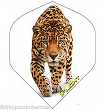 """RUTHLESS INVINCIBLE """"STALKING LEOPARD """" EXTRA STRONG DART FLIGHTS"""