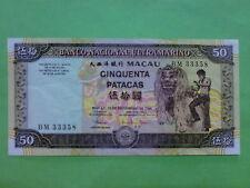 Macau (Macao) BNU 1999 50 Patacas (EF) BM 33358