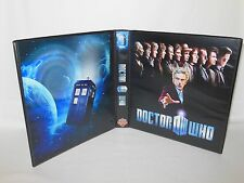 Custom Made Doctor Who Trading Card Album Binder