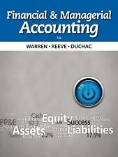 Financial and Managerial Accounting by Warren Reeve Duchac 12th Edition