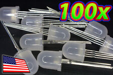 [100x] HUGE 10mm RGB LED Diffused Lens Common ANODE