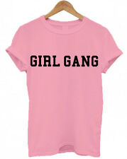 GIRL GANG, Squad, Christmas Present tumblr Secret Santa unisex T Shirt