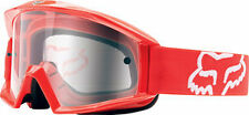 2017 FOX RACING GOGGLES MAIN PRINTS 180 RACE RED CLEAR LEANS MX ATV 12364-902