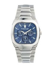 NEW Freestyle VELVET SHARK Watch BLUE 21030 Mens Quartz Stainless Steel Military