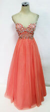 City Triangles CORAL Ball Prom Formal Gown 7 - $189 NWT