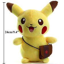 "9.5"" Pokemon Pikachu Figures Soft Stuffed Plush Doll Kids Children Baby Toy Gift"