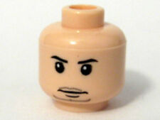 LEGO - Minifig, Head Male Thin Mouth with Chin Whiskers (Viktor Krum) - Flesh
