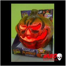 LIGHT Up male Zucca-Halloween outdoor indoor Partito Decorazione Prop spaventosa
