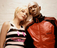 Maxi Jazz and Sister Bliss UNSIGNED photo - E474 - Faithless