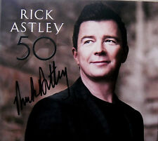 RICK ASTLEY * 50 * UK SIGNED 12 TRK CD * BN&M * KEEP SINGING * ANGELS ON MY SIDE