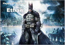 Batman The Dark Knight Birthday Card A5 Personalised own words