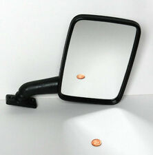 VW TRANSPORTER T3 & CAMPER 79-90 LT 75-96 DOOR WING MIRROR MANUAL BLACK - RIGHT