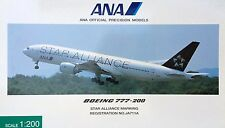 Herpa / Hogan Wings 1:200 NH20002 ANA B 777-200 JA711A STAR ALLIANCE MARKING