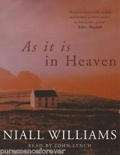 AS IT IS IN HEAVEN - Niall Williams (Cassette Audio Book)