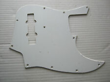 1 ply White pickguard for Jazz Bass