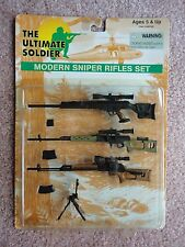 Modern Sniper Rifles Set The Ultimate Soldier 1/6 scale mint pack