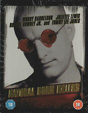 Natural Born Killers, geprägtes Blu Ray Steelbook, OOP, NEU & OVP