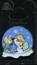 Young Elsa & Anna with Olaf Frozen Disney Pin 107140