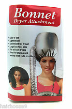 Hair Dryer Bonnet Portable Soft Hood Attachment Home & Salon Haircare UK