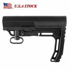 Mission First Tactical MFT Battlelink Minimalist Buttstock Adjustable Blacks