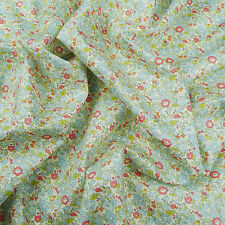 Liberty ~ Betsy Ann C Blue Tana Lawn Fabric / quilting dressmaking nursery