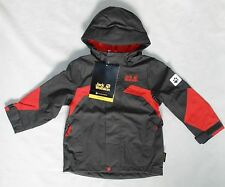 Jack Wolfskin Toddler Boy Size 92 (18-24M) Topaz Texapore Jacket Dark Steel Coat