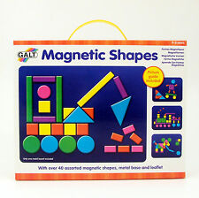 Magnetic Shapes Activity Toy Picture Guide + Metal Base Galt for 3+ NEW